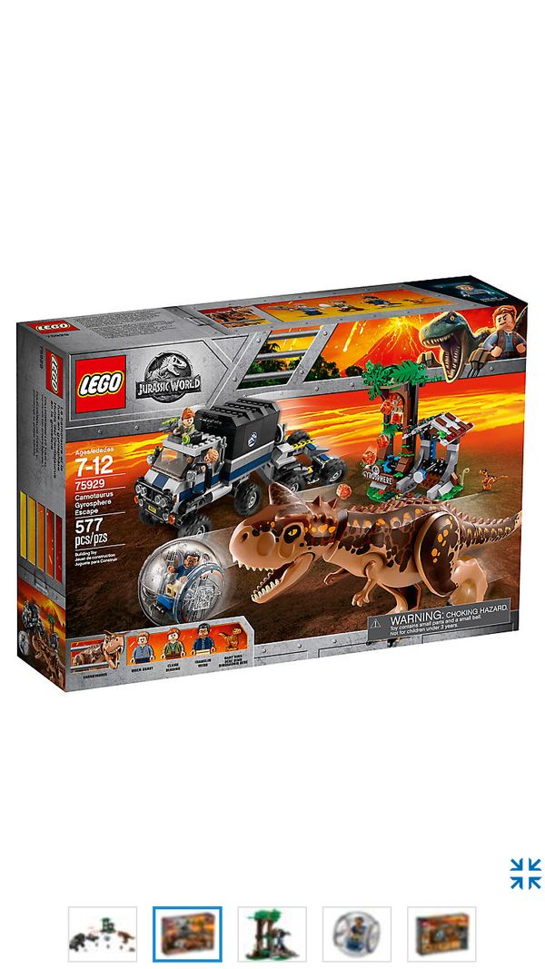 Lego 75929 Jurassic World Flucht in der Gyrosphere