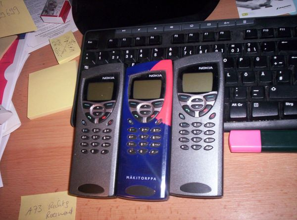 Nokia Communicators 2 x Type RAE 2-N Mod. B & 1 x Mod. M