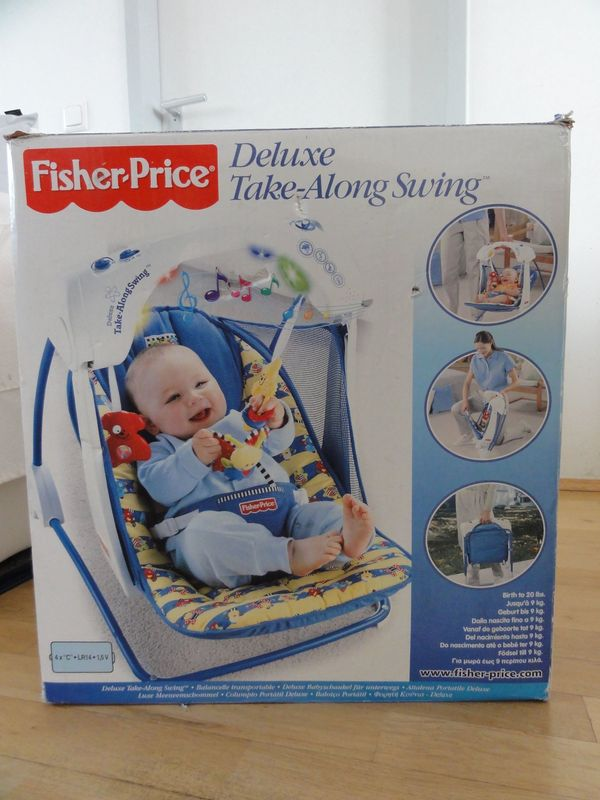 Fischer Price Deluxe Take-Along Swing Kinder Schwing-stuhl