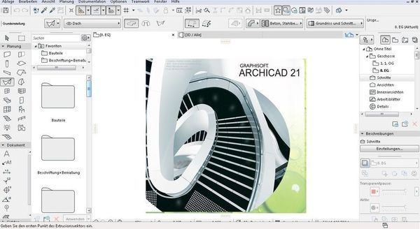 ArchiCAD 21 Graphisoft FULL Deutsche