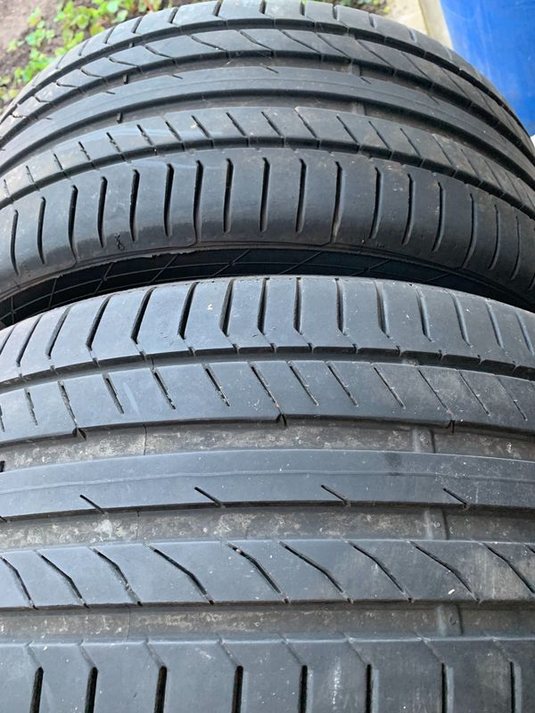 2x Sommerreifen Continental ContiSportContact 5P, 255/40 R 19