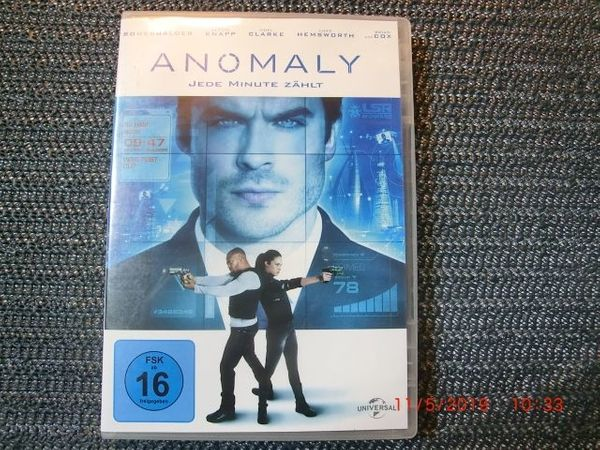 DVD Anomaly