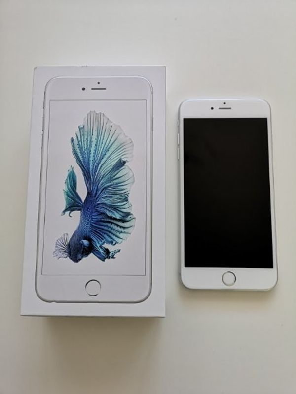 I Phone 6 S Plus 128GB Silber Top