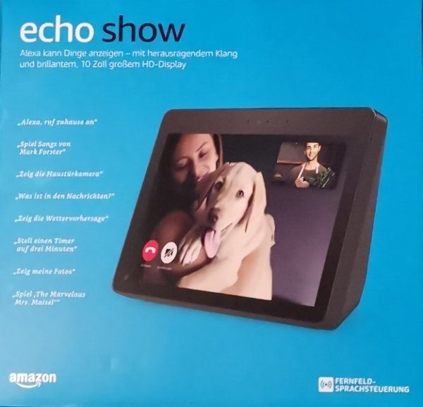 Amazon Echo Show 2.Generation in ungeöffneter Originalverpackung