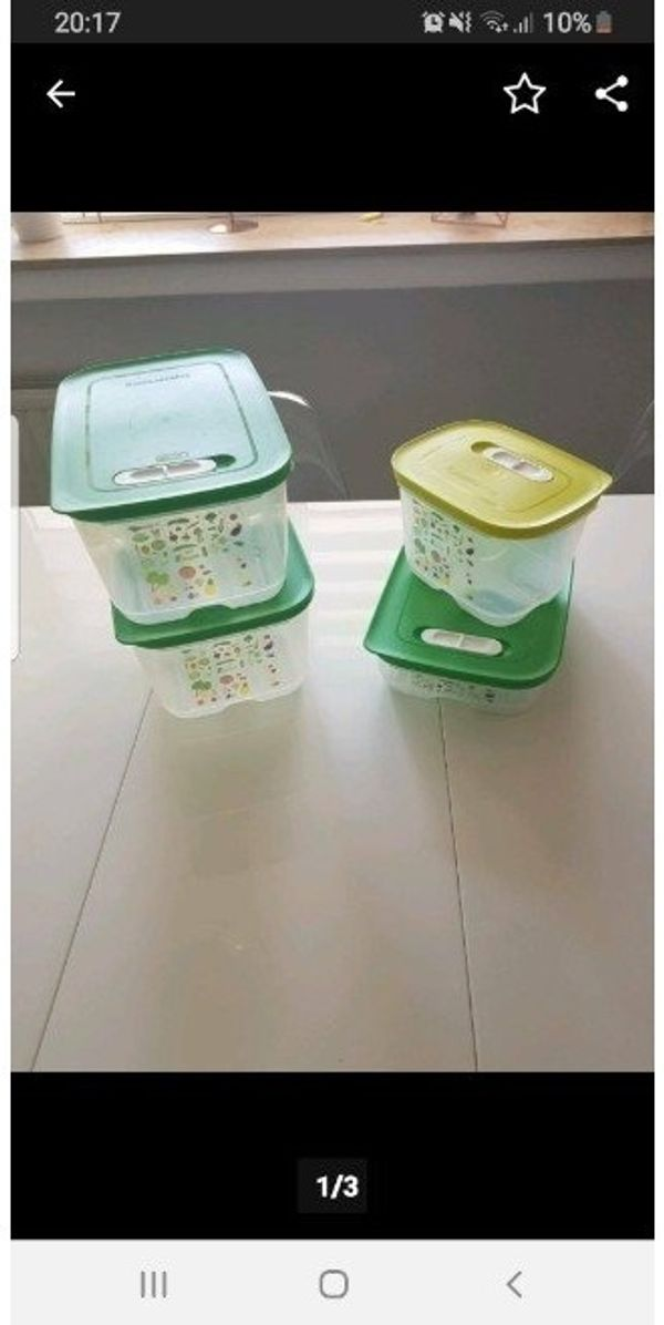 Tupperware Klima Oase Set