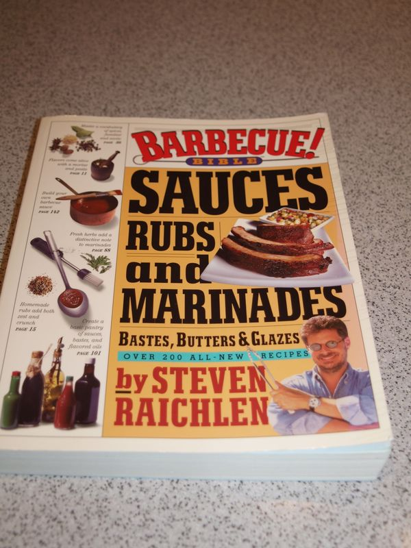 Buch Barbecue Bible - Sauces, Rubs and Marinades