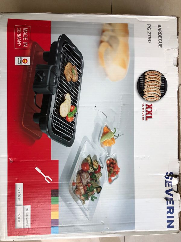 Severin PG 2790 Tischgrill Elektrogrill Barbecue
