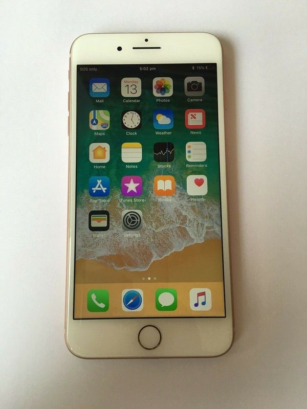 Apple iPhone 8 Plus 64 GB Gold (entsperrt) A1864 (CDMA + GSM) (AUStock)