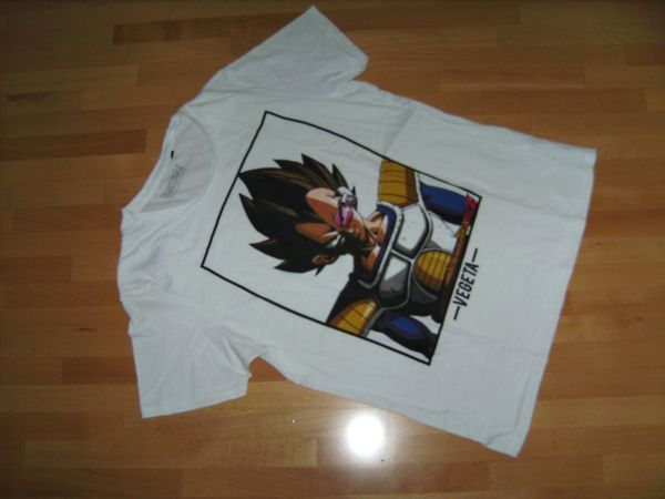DRAGONBALL Z Vegeta Shirt Gr. M