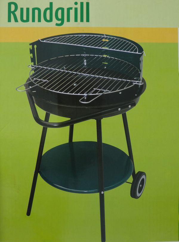 Rundgrill NEU und OVP Grill Holzkohlegrill Barbecue Standgrill