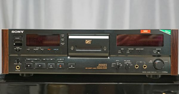 Sony DTC-2000 ES Digital Audio Tape Deck