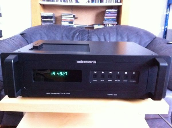 Audio Research CD 5 Schwarz