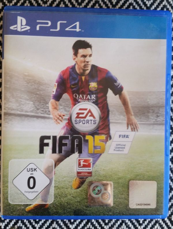 Fifa 15 PS4 Playstation 4 Game Lionel Messi FC Barcelona