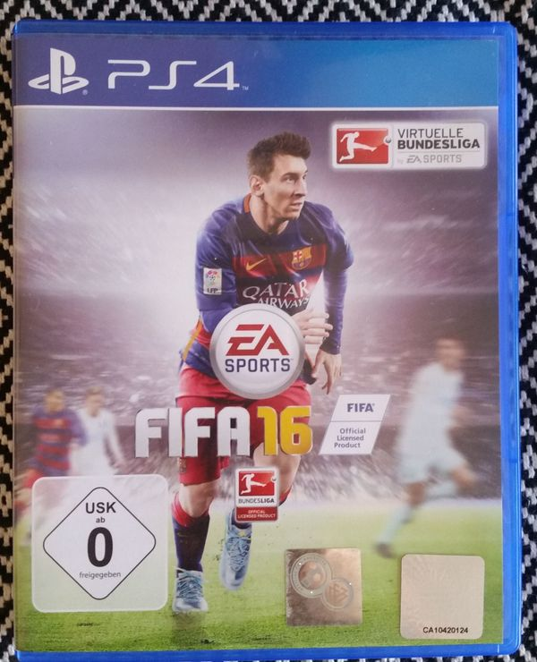 FIFA 16 PS4 Playstation 4 Game lionel messi FC Barcelona