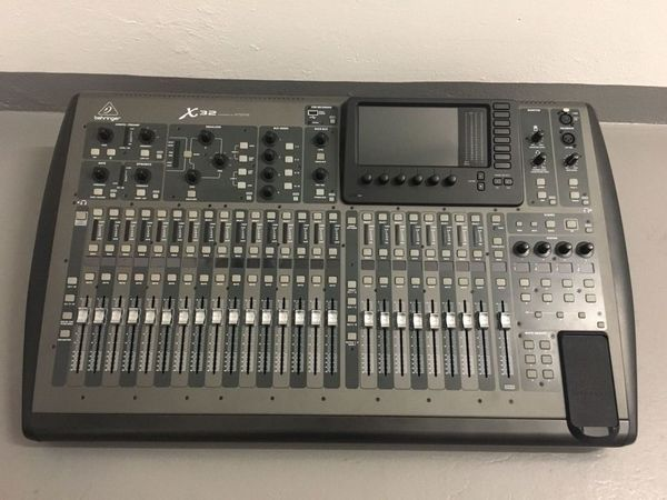 Behringe r X32 40-Channel, 25-Bus Digital Mixing Console