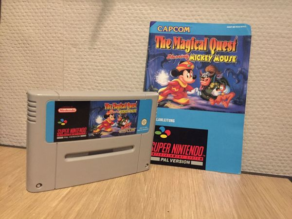 Mickey Mouse Mickey Maus The Magical Quest Nintendo