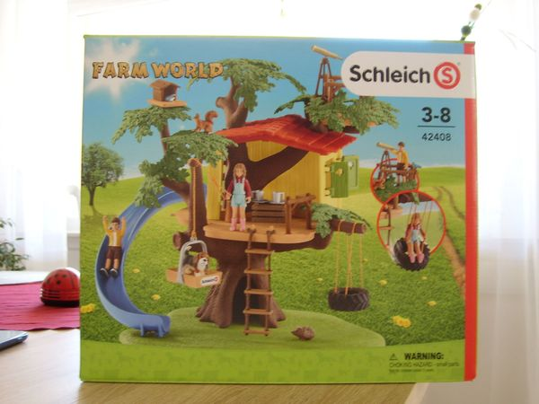 Schleich Farm World Baumhaus
