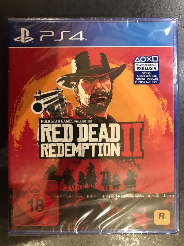 Red Dead Redemption 2 (PS4) neu, OVP