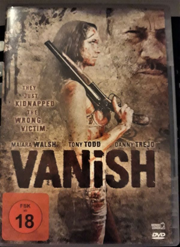 VANISH ACTIONTHRILLER DVD
