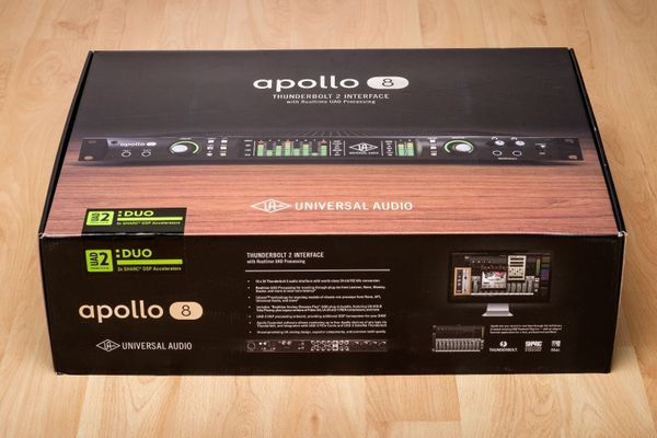 Universal Audio Apollo 8 Duo Thunderbolt Audio-Interface