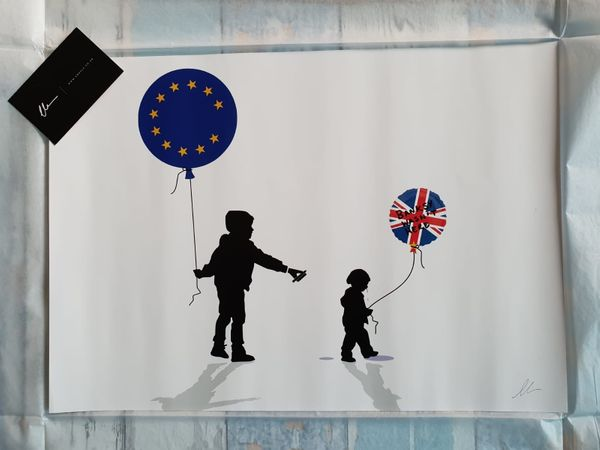 Chris Boyle, Banksy Art ,, Banksy wasn't here
