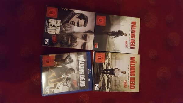 The Walking dead staffel 7+8