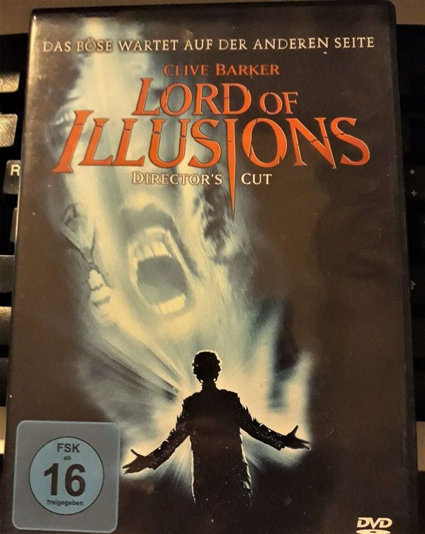 LORD OF ILLUSIONS DIRECTORS CUT DVD