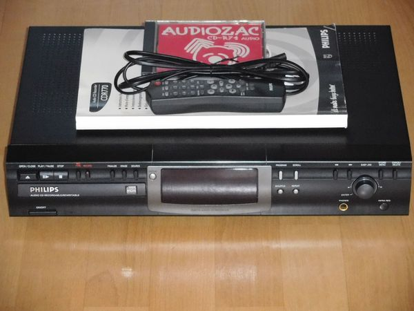 Philips CDR 770 Audio CD-Recorder CD-Player mit Aufnahmefunktion