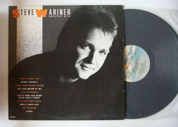 Steve Wariner Greatest Hits US LP 1987 Country