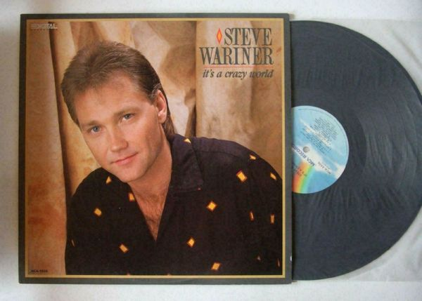 Steve Wariner It``s A Crazy World US LP 1987 Country