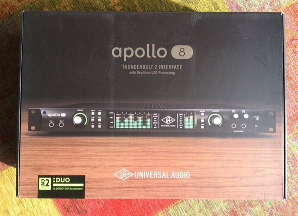 UAD Apollo 8 Thunderbolt Interface