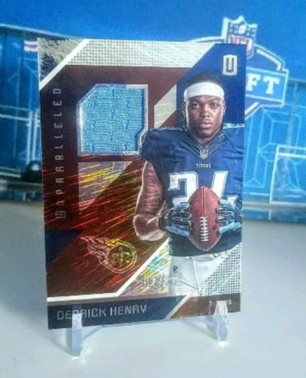 Derrick Henry RC Jersey Card 2016 NFL Titans