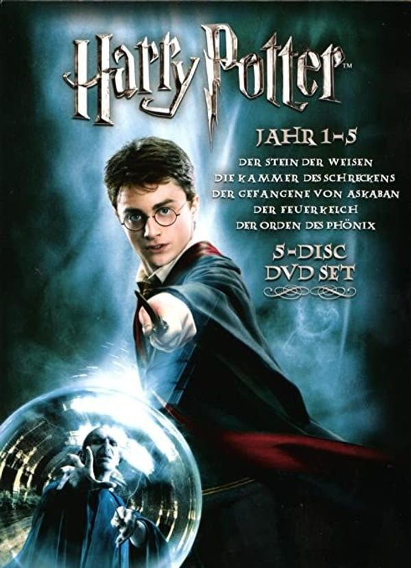 DVD Harry Potter Vol. 1-5 - WIE NEU!