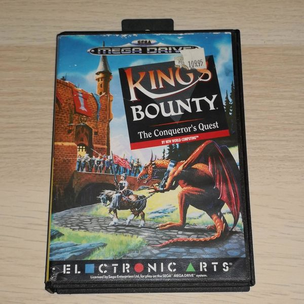 Sega Mega Drive Spiel Kings Bounty