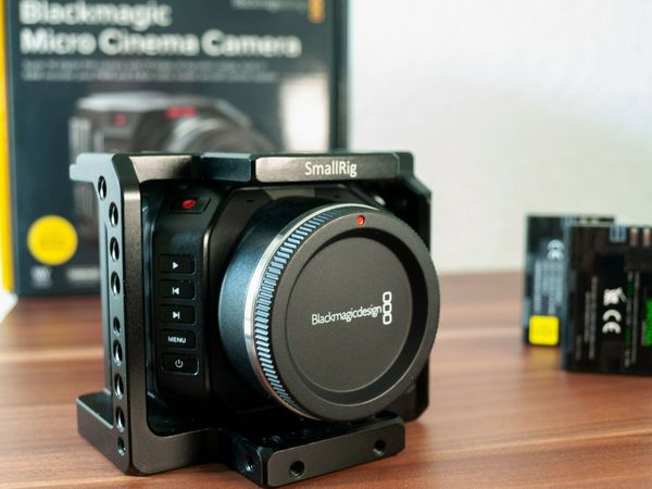 Blackmagic Micro Cinema Camera (BMMCC) - TOP Zustand!