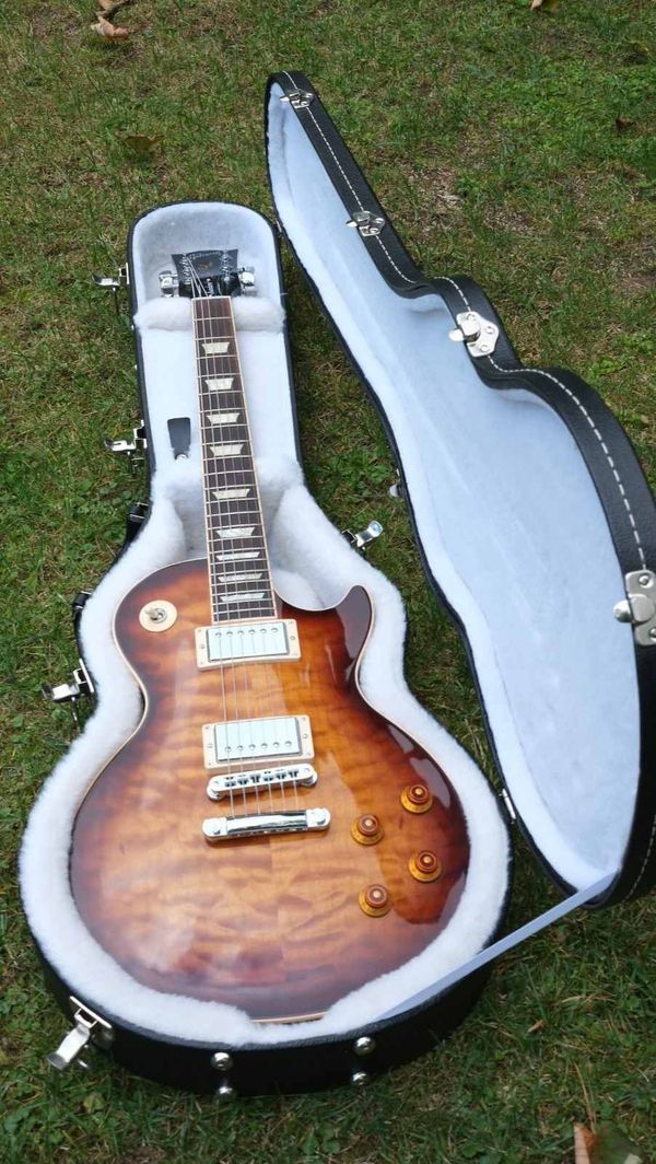 Wie neu. Like new GIBSON LES PAUL STANDARD PREMIUM QUILT MAPLE