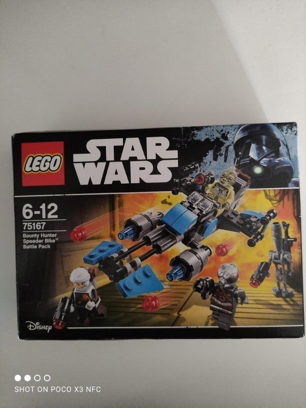 LEGO Star Wars 75167 Bounty Hunter Battle Pack NEU