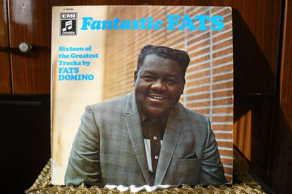 FATS DOMINO LP - Fantastic Fats, deutsche Vinyl LP von 1968