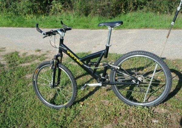 Fahrrad MTB Mountainbike Fully Votec Look