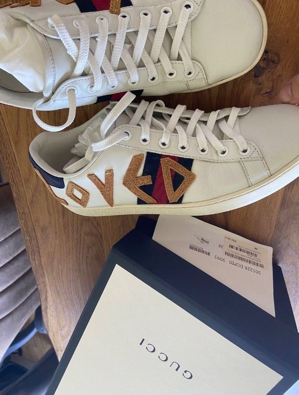 Gucci Ace sneakers LOVED