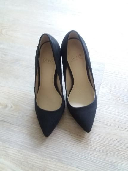 Elegante schwarze High Helels  - Another Pair of Shoes