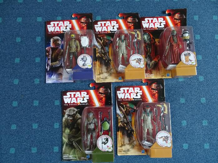 Star Wars Figuren - The Force Awakens - Neu und OVP