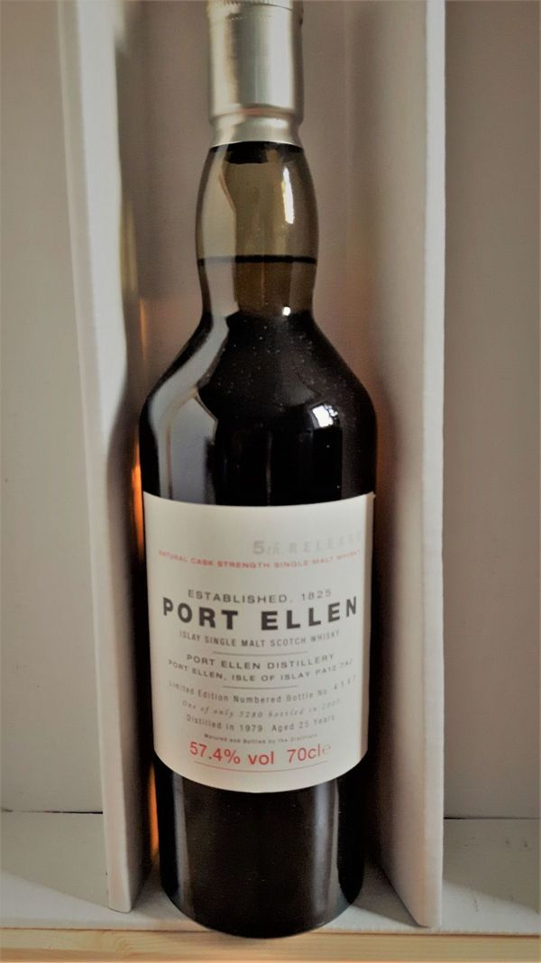 Port Ellen 25 Jahre, 5th Annual Release, 57,4%