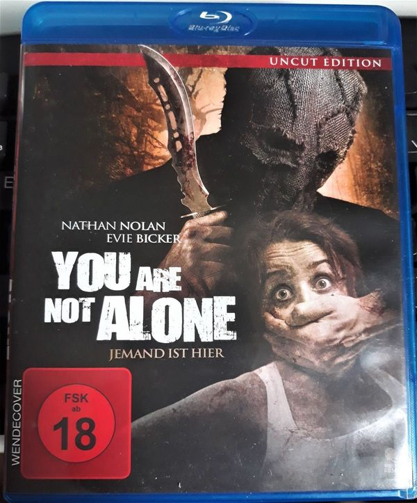 YOU ARE NOT ALONE HORRORTHRILLER BLUERAY UNCU