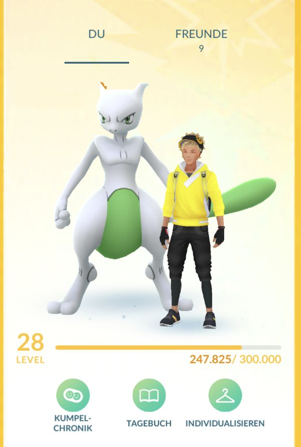 TOP POKEMON GO ACCOUNT +++ LvL 28 +++ SHINY MEWTU / 120.000 Sternenstaub uvm.