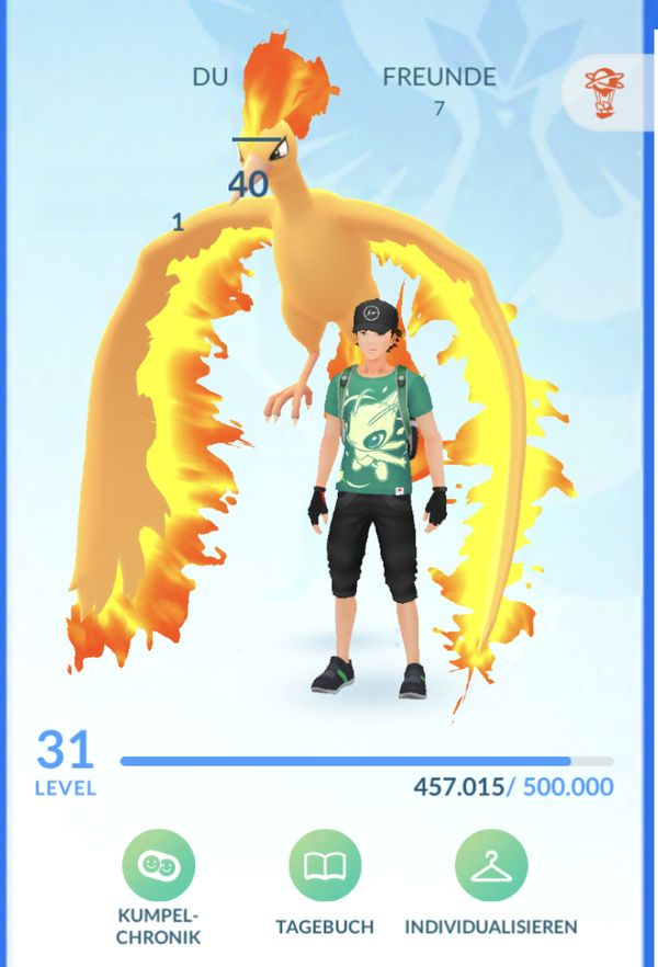 TOP POKEMON GO ACCOUNT +++ LvL 31 +++ Top-Account mit Shinys & Seltenen Pokemon