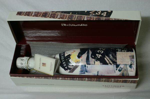 Champagne Taittinger Collection Andre Masson Brut 1982 0,75l mit Zertificat in OVP Champagner