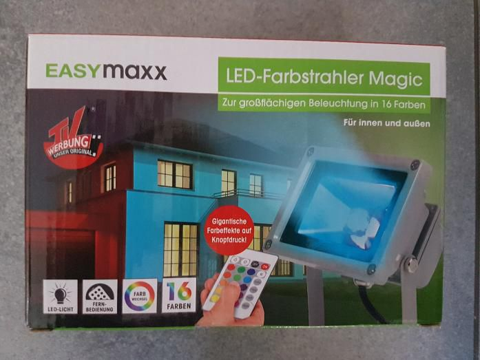 Easymaxx LED Farbstrahler Magic