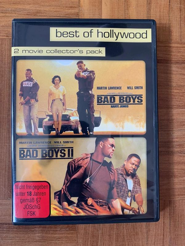 Bad Boys 1 und 2 DVD, 2 movie collector`s pack