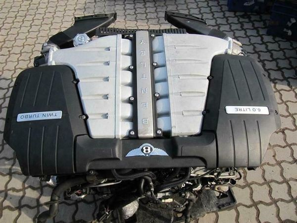 BENTLEY CONTINENTAL FLYING SPUR W12 6.0 Engine BEB KOMPLETT MOTOR 04-06 GT TOP